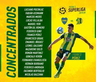 Aldosivi: Viaja mañana para enfrentar a Boca | INFOPUERTO com ar